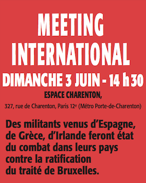 Meetin international du POI le 3 juin à 14h30 Espace Charenton à Paris
