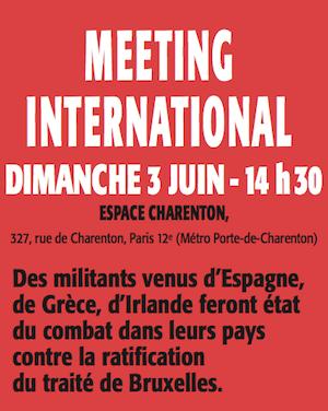 Meetin international du POI le 3 juin à 14h30 Espace Charenton à Paris