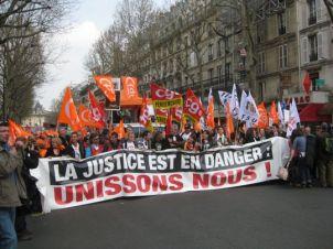 29 mars 2011 - Les magistrats manifestent à Paris