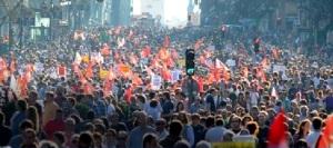 Les travailleurs espagnols manifestent