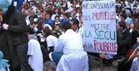 Internes en grève