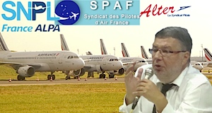 Grève pilotes Air france Alain Vidalies