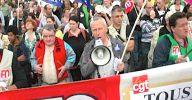 manifestants fo et cgt ensemble