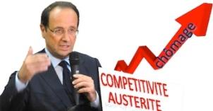 Chômage Hollande compétitivité