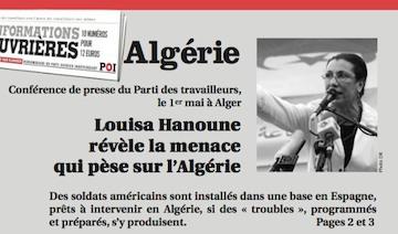 Louisa Hanoune-IO