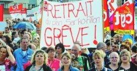 Manifestation contre la réforme des retraites Woerth / DR