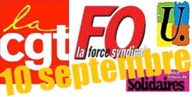 vignette Cgt fo fsu solidaires 10 sept-ocre