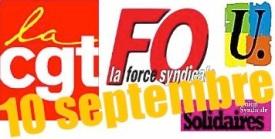 vignette Cgt fo fsu solidaires 10 sept-ocre