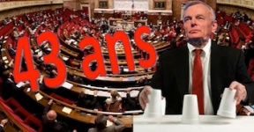 Retraites Assemblée adopte les 43 ans
