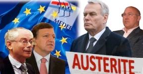 Austérité 4 ans gouvernement Hollande Ayrault Union Européenne
