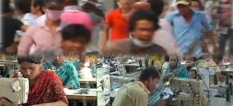 Cambodge grève manifestations ouvriers textile