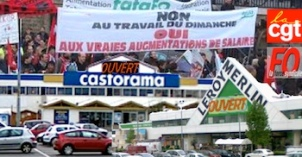 Travail dimanche magasins bricolage opposition cgt fo