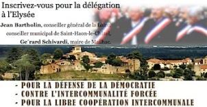 Maires délégation à l Elysée 14 février 2014