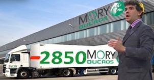 Mory Ducros 2850 licenciements Montebourg