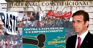 Portugal invalidation mesures d'austérité Cour constitutionnelle