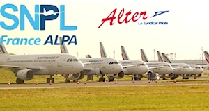 Air France grève pilotes