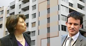 Encadrement loyers Valls Aubry