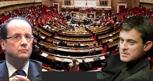 Hollande Valls Assemblée nationale