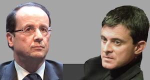 Hollande Valls l'exécutif en perdition