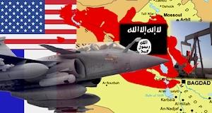 Irak bombardements avions rafale