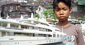 Milliardaires et pauvreté dans le monde