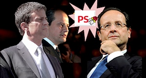 PS Valls Cambadelis Hollande
