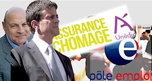 Assurance chômage  gouvernement Valls Le Guen