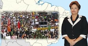 Brésil élections 1er tour Dilma Roussef