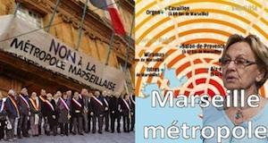Marseille métropole refus 109 élus conférence