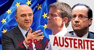 Commission européenne Moscovici délai déficit 3%