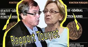 Fonctionnaires rapport Tourret