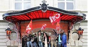 Grève victorieuse Royal Palace CGT