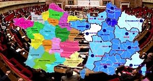 Régions vote assemblée nationale dosparition 9 régions