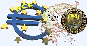 Grèce FMI BCE
