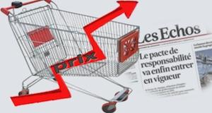 Haussse des prix pacte de responsabilité