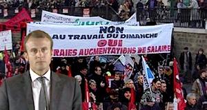 Loi Macron travail dimanche et nuit manifestation