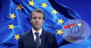 Macron Union européenne patrons