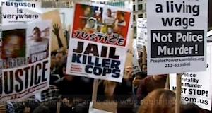 USA manifestations contre violence policière pour justice