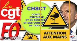 CHSCT opposition CGT FO contre MEDEF