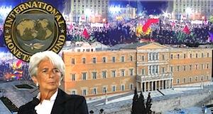 Grèce mise en garde FMI Lagarde
