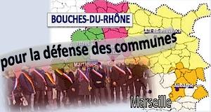 Maires Bouches du Rhône défense des communes