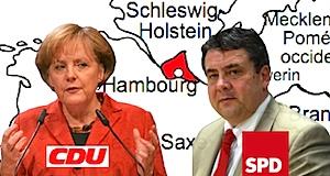 Allemagne élections Hamburg échec coalition cdu spd