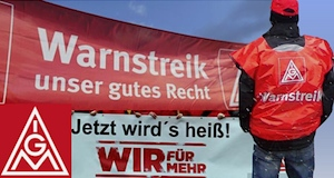 Allemagne grève métallurgistes IGMetall augmentation salaires