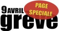 9 avril grève page spéciale