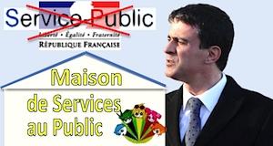 Maison de service au public Manuel Valls