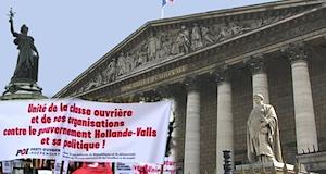 Parlement textes contre la classe ouvrière et la République