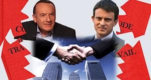 Code du travail adapté entreprises Valls Medef