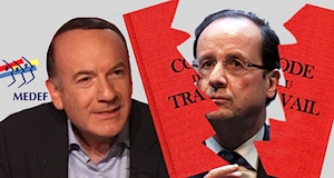 Contrat flexible Hollande Medef