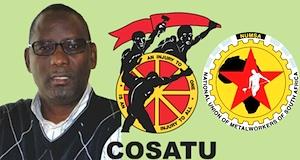 COSATU exclusion Zwelinzima Vavi