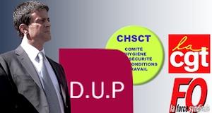 Dialogue social réforme DUP CHSCT